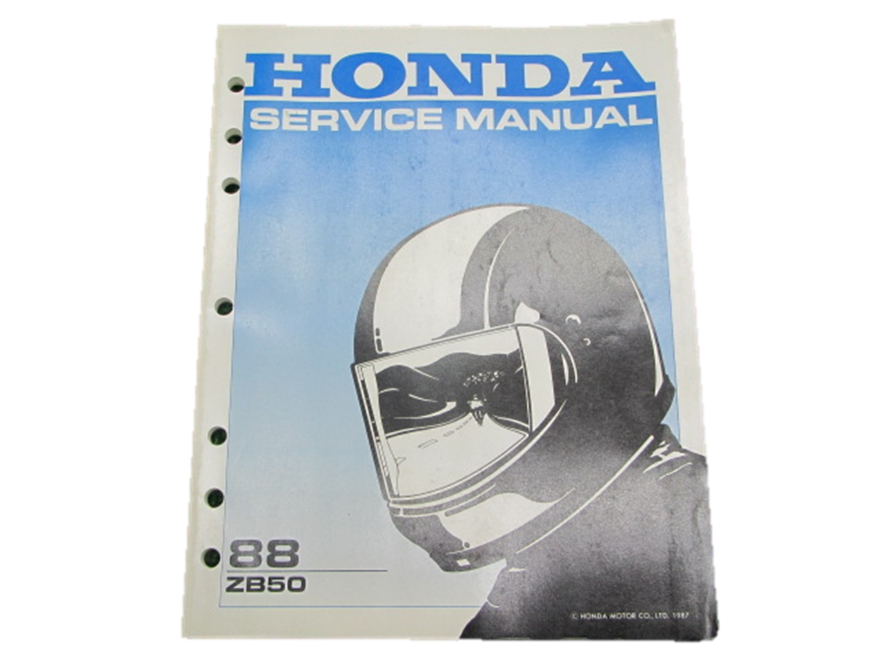 Image Is Loading HONDA Genuine Used Motorcycle Service Manual ZB50 In